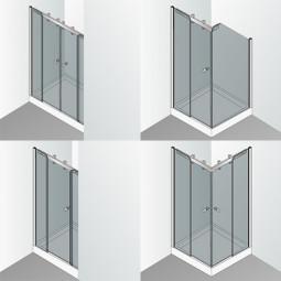 Cabine de douche sur mesure spéciale coulissante
