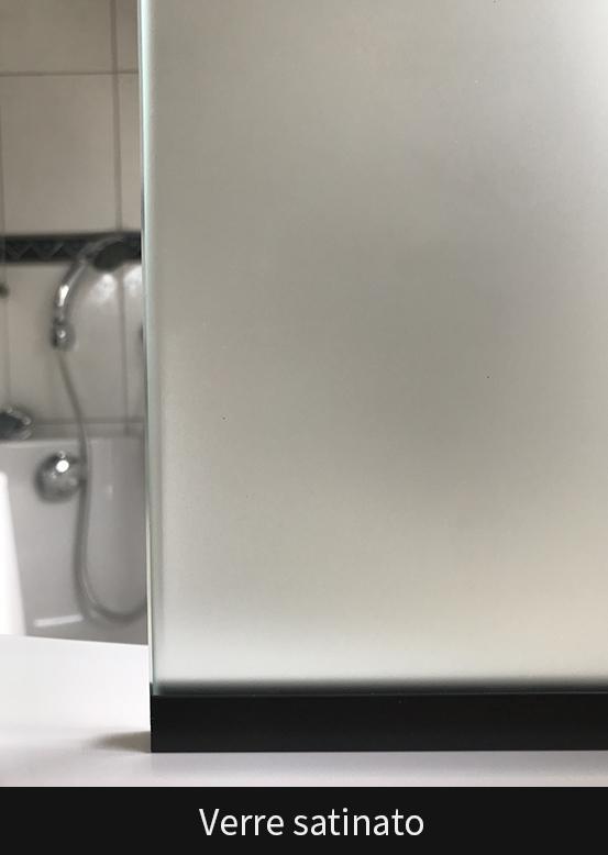 Les verres de cabine de douche