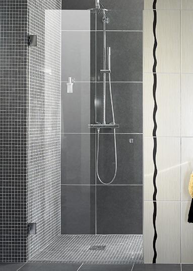 Les charnières de douche Liscio